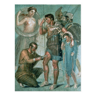 Aeneas hirió, de Pompeya Postal