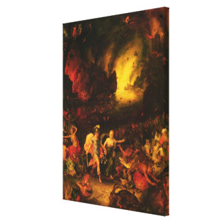 Aeneas in Hades Canvas Prints
