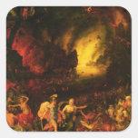 Aeneas in Hades Square Sticker