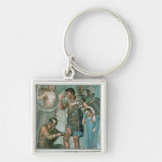 Aeneas injured, from Pompeii Keychain