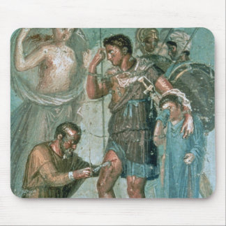 Aeneas injured, from Pompeii Mouse Pad