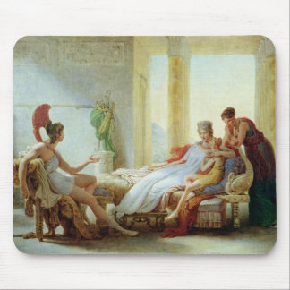 Aeneas telling Dido of the Disaster at Troy Mouse Pad