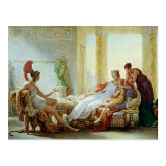 Aeneas telling Dido of the Disaster at Troy Postcard