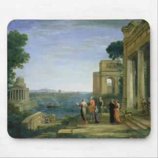 Aeneas y Dido en Cartago, 1675 Alfombrillas De Raton