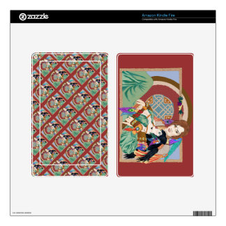 Aengus and Caer Kindle Fire Skins
