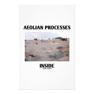 Aeolian Processes Inside (Rocky Landscape) Stationery
