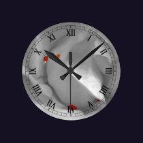 Aeolian Watercolor Clock