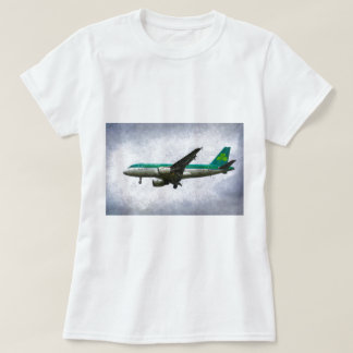 Aer Lingus Airbus A319 Art T-Shirt