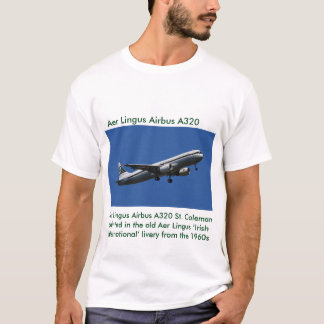 Aer Lingus Airbus A320  image for men's t-shirt