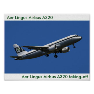 Aer Lingus Airbus A320  image for poster