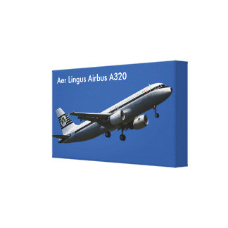Aer Lingus Airbus A320  image for wrapped-canvas Gallery Wrap Canvas