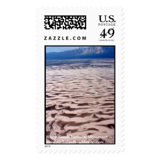Aerial 2 White Sands National Monument Postage