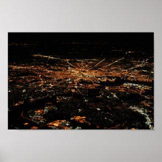 Aerial Baltimore 8x12 Poster
