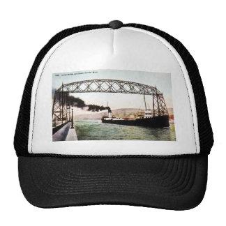 Aerial Bridge and Canal, Duluth, Minn. Trucker Hat