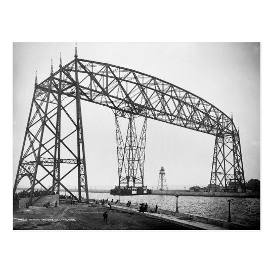 Aerial Bridge Duluth Minnesota Postcard