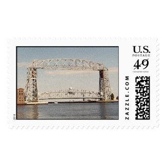 Aerial Bridge MD-LG Postage Stamp