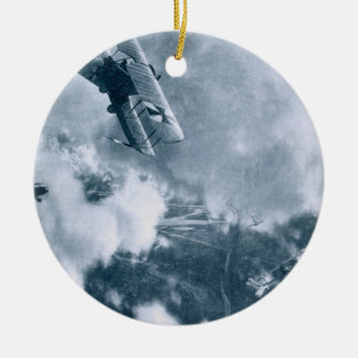 Aerial Combat on the Western Front, World War One, Ceramic Ornament