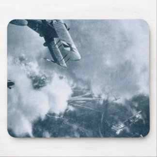 Aerial Combat on the Western Front, World War One, Mouse Pad