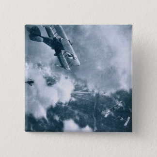 Aerial Combat on the Western Front, World War One, Pinback Button
