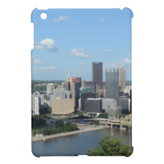 Aerial Downtown Pittsburgh Skyline iPad Mini Cases