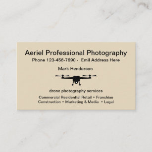 Aerial photography business cards templates zazzle aerial drone photography business card reheart Images