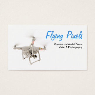 Aerial Drone Video & Photography Service Business Card
