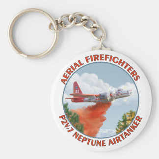 Aerial Firefighters P2V Budget Keychain