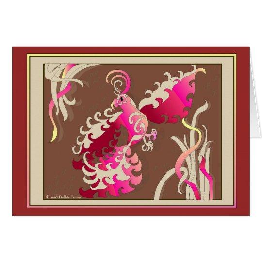 Aerial Flamenco by Debbie Jensen Card