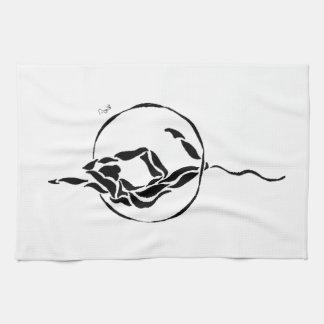 Aerial Hoop Foot to Head Towel