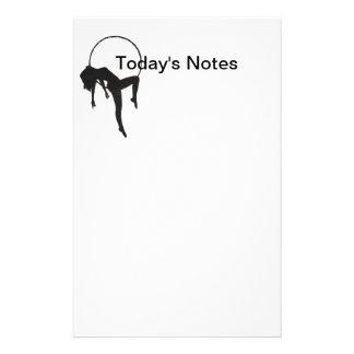 Aerial Hoop Lyra Notepad Stationery
