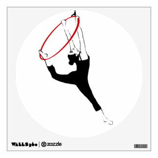 Aerial Hoop / Lyra Wall Decal