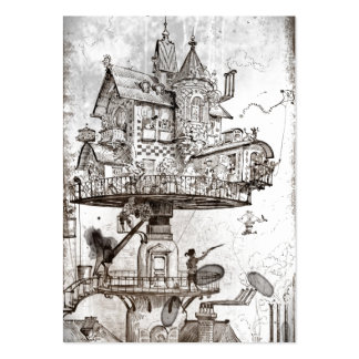 Aerial House Maison Tournante Large Business Cards (Pack Of 100)