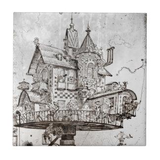 Aerial House Maison Tournante Ceramic Tile