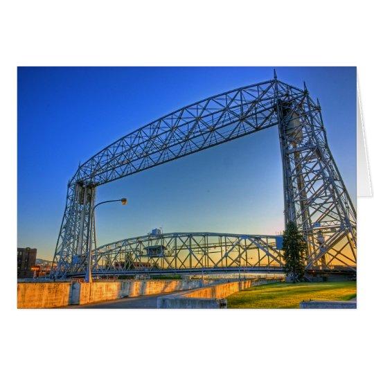 Aerial Lift Bridge Card