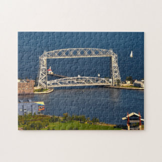 Aerial Lift Bridge Duluth Minnesota Jigsaw Puzzle