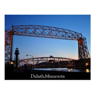 Aerial Lift Bridge Duluth Minnesota Postcard