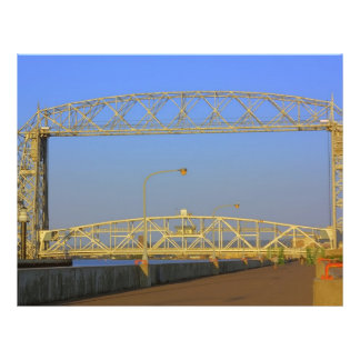 Aerial Lift Bridge from North Pier Personalized Flyer
