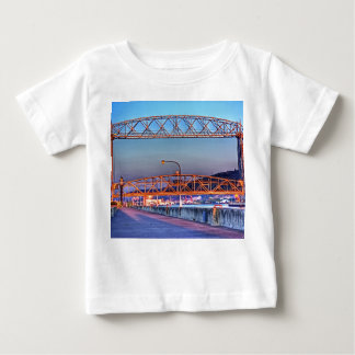 Aerial Lift Bridge from South Pier Baby T-Shirt