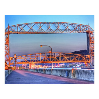 Aerial Lift Bridge from South Pier Flyer