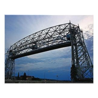 Aerial Lift Bridge in Action Flyers