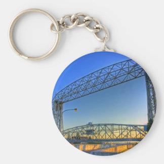 Aerial Lift Bridge Keychain