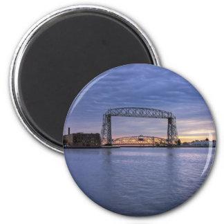 Aerial Lift Bridge Refrigerator Magnets