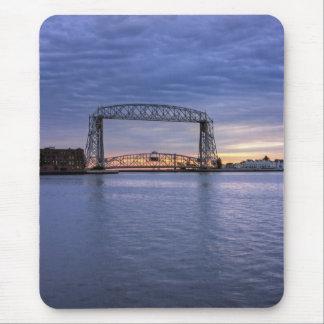 Aerial Lift Bridge Mouse Pad