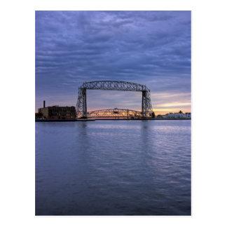 Aerial Lift Bridge Postcard