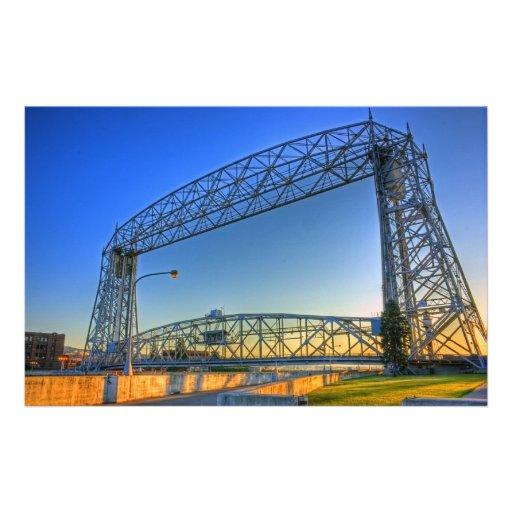Aerial Lift Bridge Stationery Design