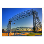 Aerial Lift Bridge Stationery Note Card