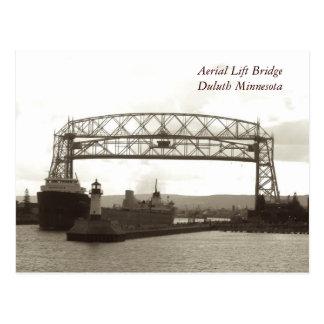 Aerial Lift BridgeDuluth Minnesota Postcard