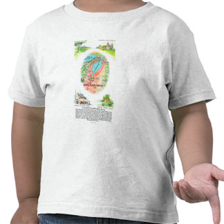 Aerial Map of Santa Clara County with Sites Shirts