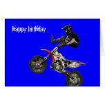 aerial moto-cross #6 cards