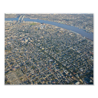 Aerial New Orleans Garden District Photo Print